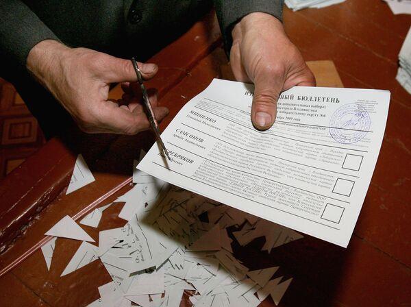 Дополнительные выборы в городскую Думу Владивостока