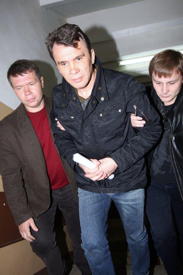 Владимир Феньков в здании Лефортовского районного суда