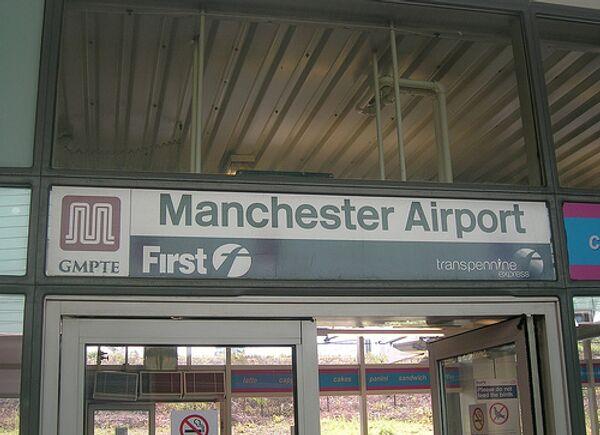 Аэропорт Манчестера. Архивное фото