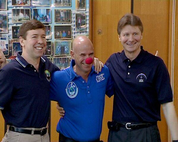 Неделя в невесомости – космический клоун Ги о полете в космос