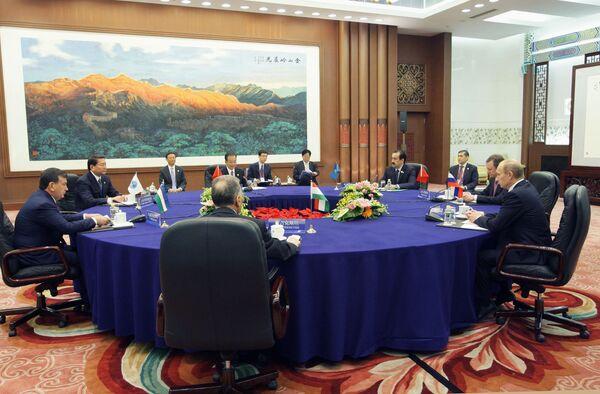 В.Путин принял участие во встрече глав правительств государств-членов Шанхайской Организации Сотрудничества (ШОС)