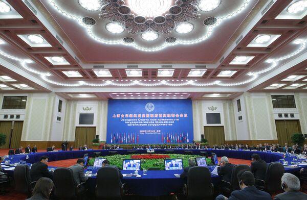 Заседание глав правительств государств-членов Шанхайской Организации Сотрудничества (ШОС). Архив