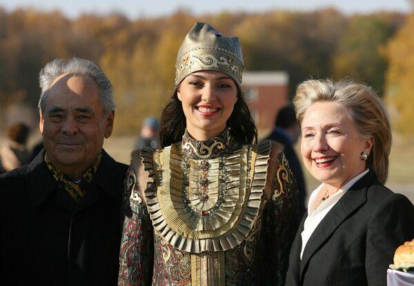 Визит госсекретаря США Хиллари Клинтон в Республику Татарстан