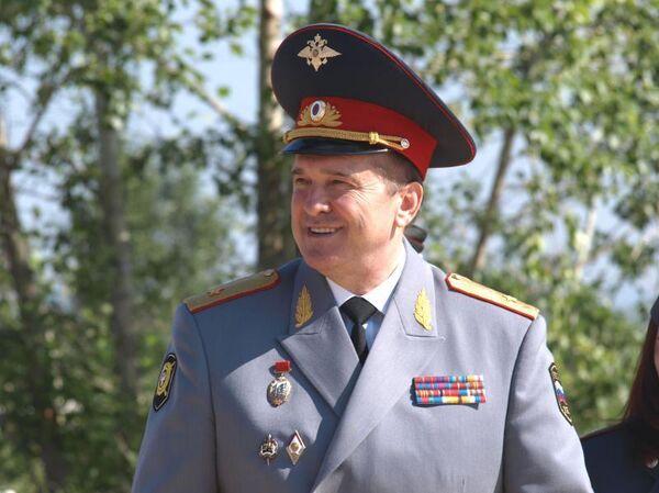 Министр внутренних дел Бурятии Виктор Сюсюра