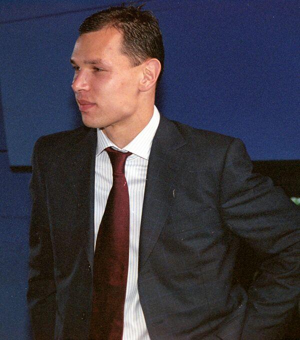 Футболист Сергей Игнашевич. Архив