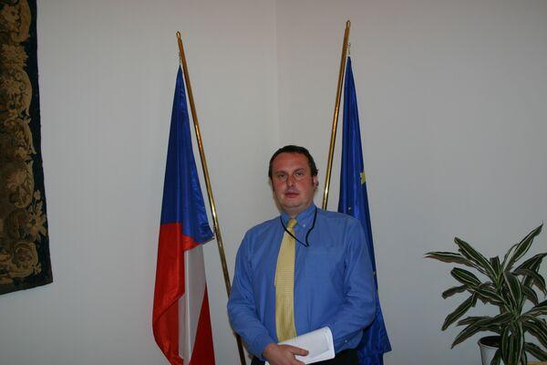 Томаш Пояр, первый замглавы МИД Чехии