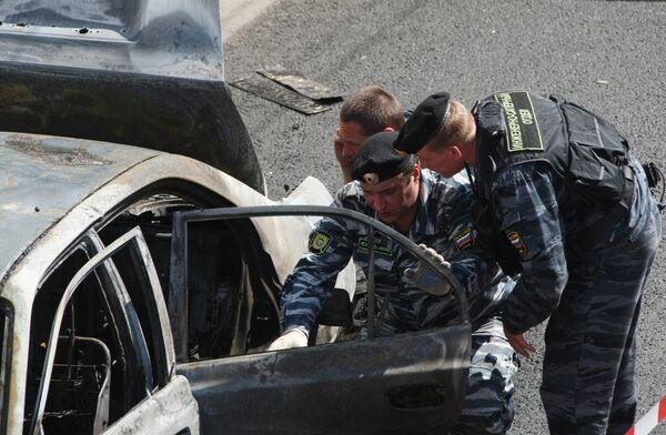 Машина начальника криминальной милиции Малгобека взорвана в Ингушетии