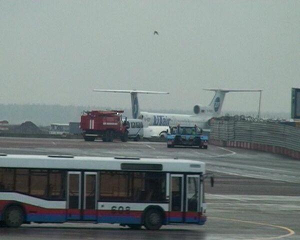 Airbus A-330 совершил аварийную посадку во Внуково