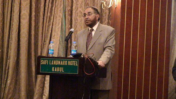 Глава афганской избирательной комисии (Центризбирком) Азизулла Лудин