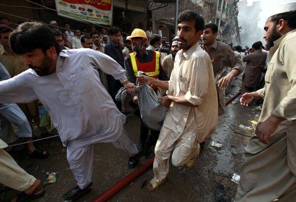 Взрыв на северо-западе Пакистана
