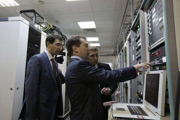 Дмитрий Медведев посетил ЦКС Медвежьи озера