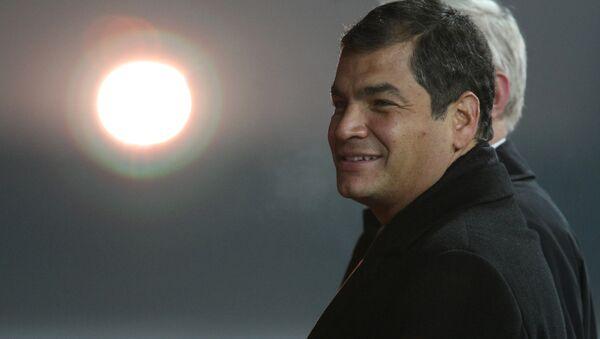 Экс-президент Эквадора Рафаэль Корреа. Архивное фото