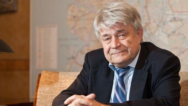 Руководитель ГУП «Водоканал Петербурга» Феликс Кармазинов
