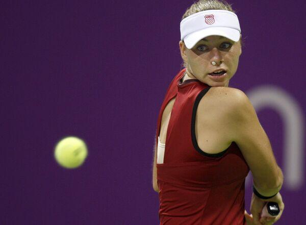 Российская теннисистка Вера Звонарева
