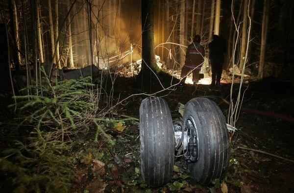 Крушение самолета авиакомпании С-ЭЙР под Минском