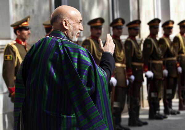 Церемония второй президентской присяги Хамида Карзая прошла в столице Афганистана Кабуле по сценарию - с усиленными мерами охраны и в присутствии высокопоставленных гостей.