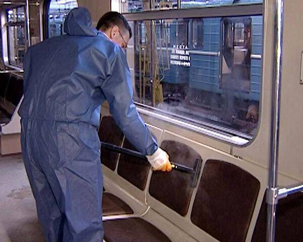 Как в метро борются с гриппом и микробами