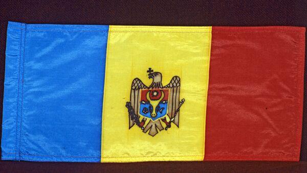 Государственный флаг Республики Молдова. Архивное фото
