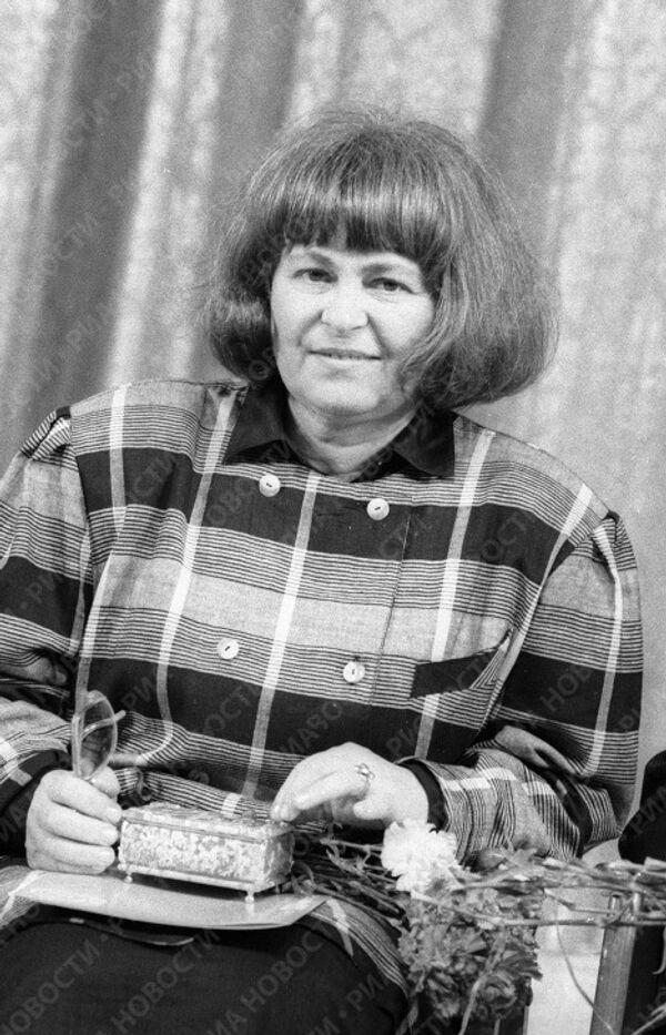Советский кинорежиссер Кира Муратова