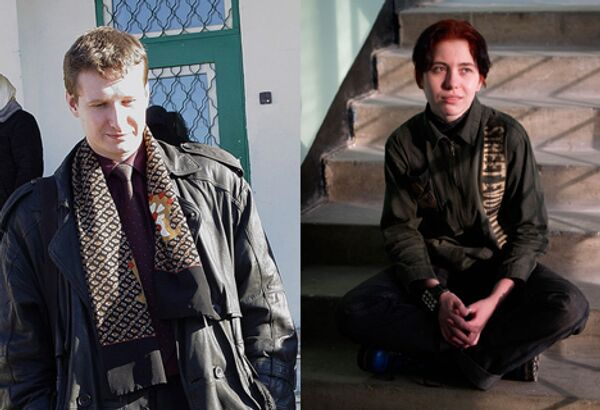 Адвокат Станислав Маркелов и журналистка Анастасия Бабурова