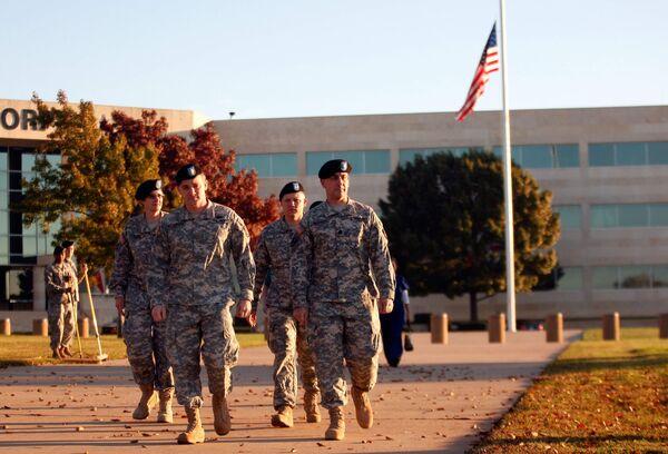 Перестрелка на военной базе в Техасе