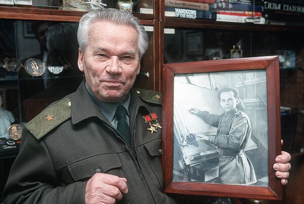 Российский конструктор Михаил Калашников