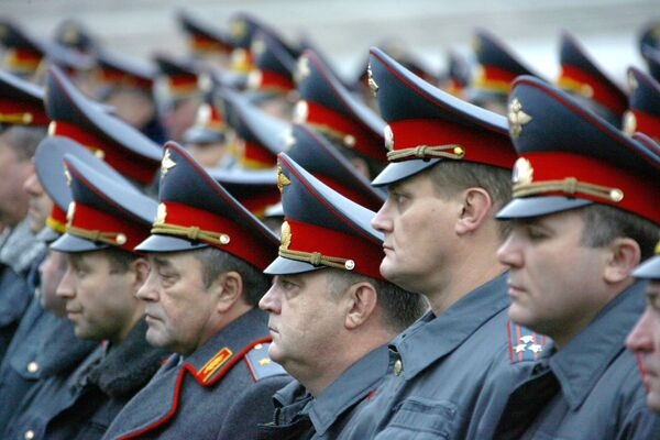Московская милиция. Архив