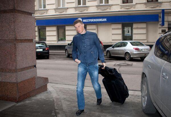 Футболист сборной России Павел Погребняк