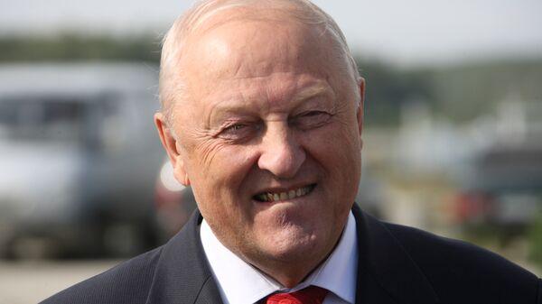 Губернатор Свердловской области Эдуард Россель