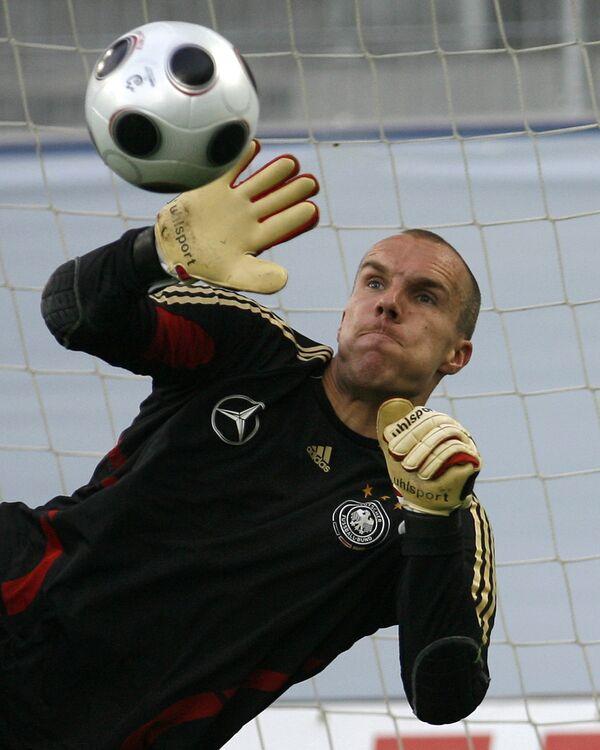 Немецкий футболист Роберт Энке