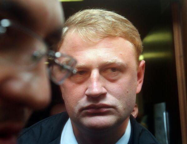 Алексей Дымовский на пресс-конференции в Москве