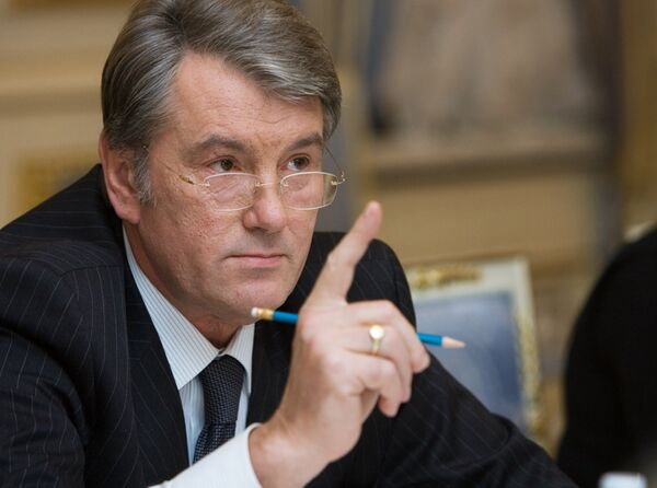 Ющенко сомневается в раскрытии дела Лозинского и дела педофилов