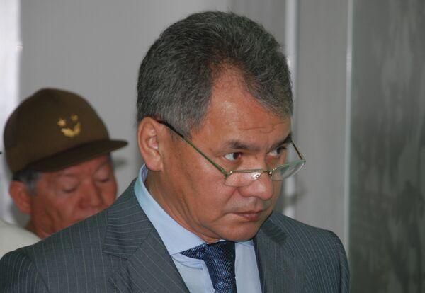 Шойгу предложил бизнесу консолидироваться для повышения ответственности