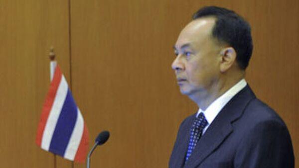 Глава МИД Таиланда Касит Пиром. Архив