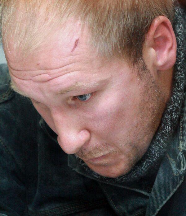 Инкассатор Александр Шурман, подозреваемый в похищении 250 млн рублей. Арестован