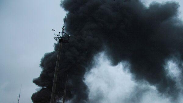 Взрыв произошел в одноэтажном здании на северо-западе Москвы