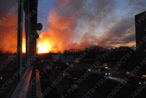 Взрывы на территории ФГУП 31 арсенал в Заволжском районе Ульяновской области