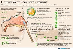 Прививка от «свиного» гриппа