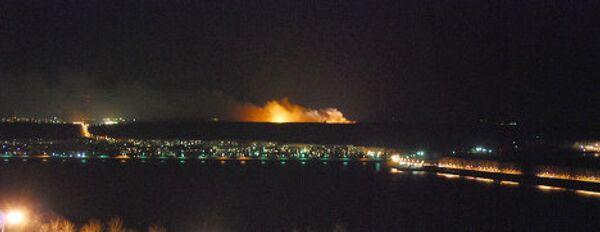 Взрывы на территории ФГУП 31 арсенал в Ульяновской области
