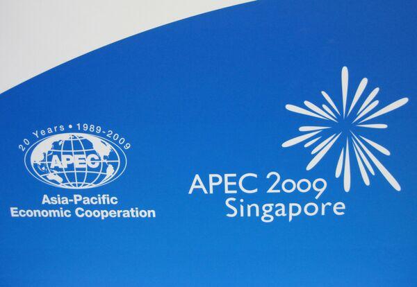Логотип XVII саммита АТЭС в Сингапуре