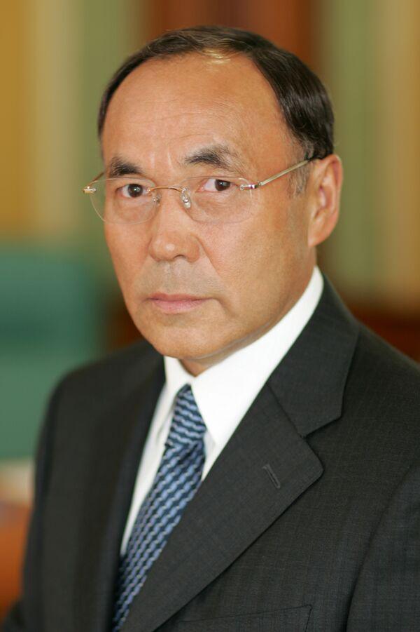 Действующий председатель ОБСЕ, государственный секретарь-министр иностранных дел Казахстана Канат Саудабаев
