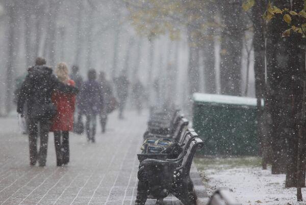 Снег прошел, синоптикам досталось