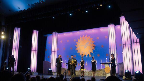 Церемония награждения победителей конкурса СМИротворец-2009