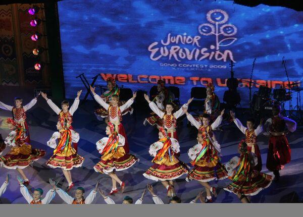 Детский песенный конкурс Евровидение-2009 открылся в Киеве