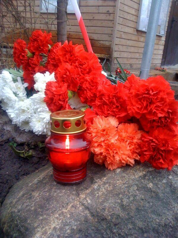 На Пушкинской площади молились о снесенной обители и убитом священнике