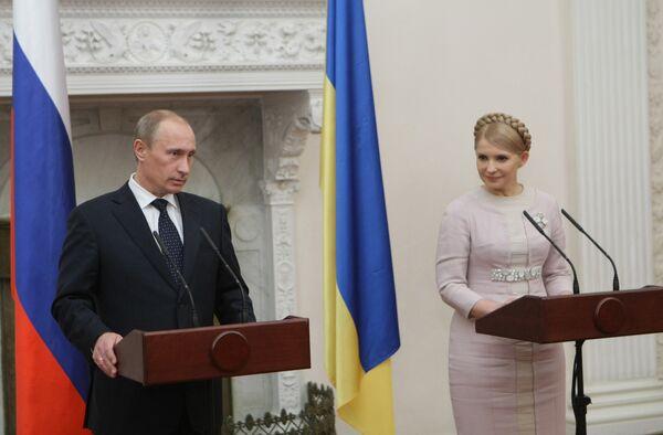Тимошенко предлагает РФ совместно строить транспортные магистрали