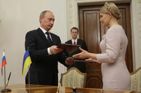 Тимошенко на встрече с Путиным выполнила не все директивы Ющенко