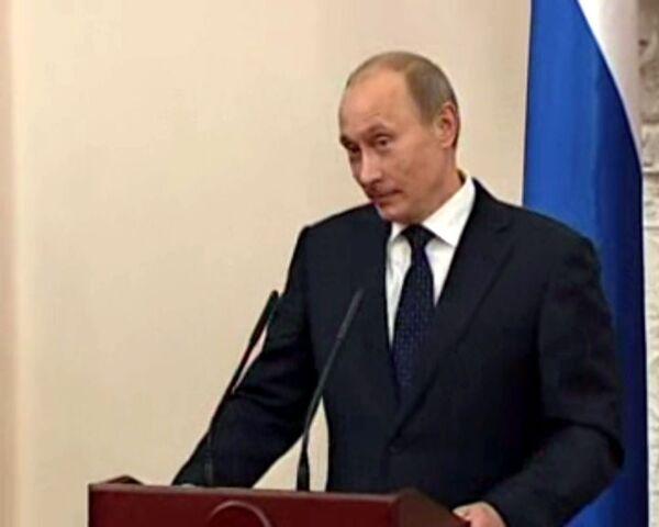 Путин посоветовал Ющенко беречь галстук от Саакашвили