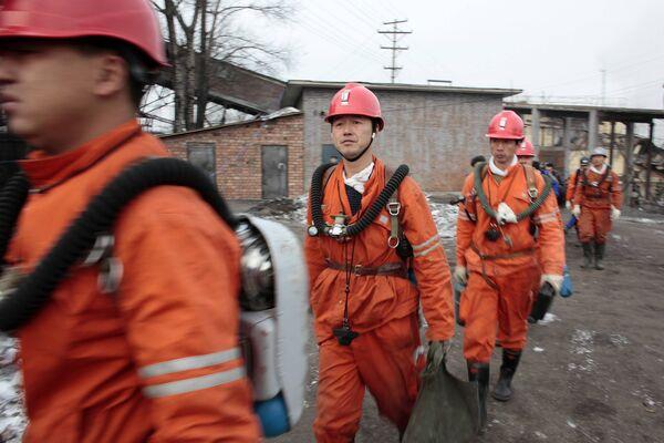 Взыв на угольной шахте в Китае