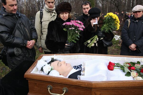 Похороны юриста инвестиционного фонда Hermitage Capital Management Сергея Магнитского